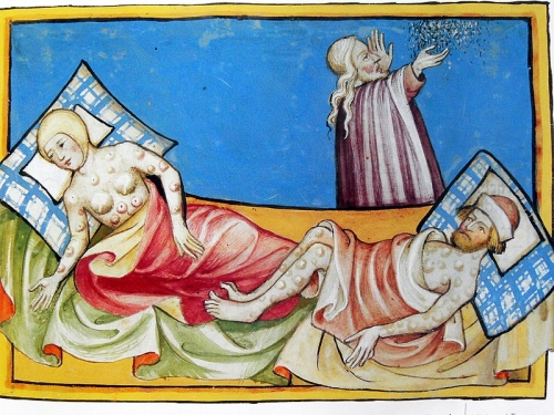 Egyptian_plague_of_boils_in_the_Toggenburg_Bible suisse 1411.jpg