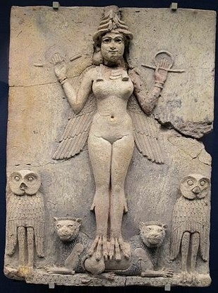 Ishtar - plaque Burney - British Museum.jpg